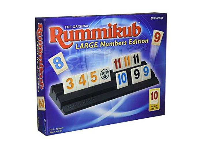 Rummikub Large Number Edition Pressman Toy Pressman Toy