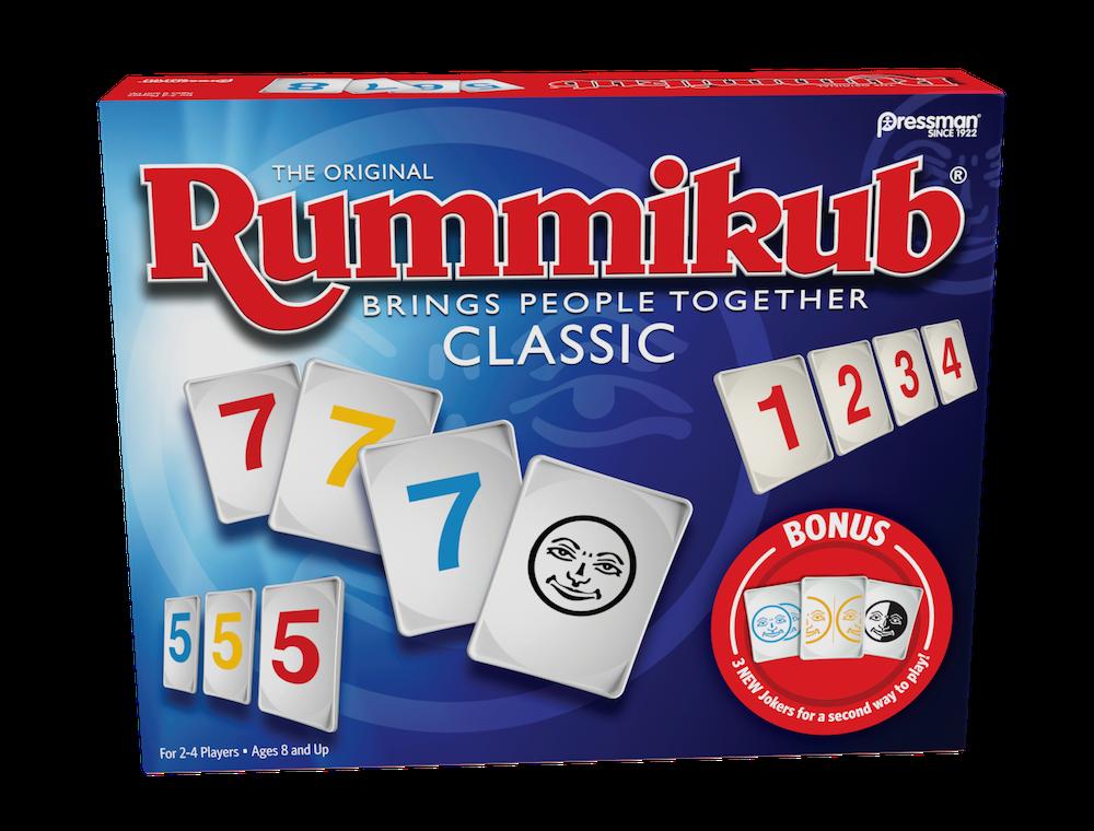 Classic Rummikub With Twist Jokers Pressman Toy Pressman Toy